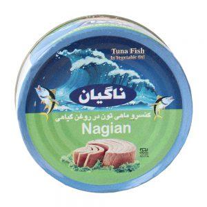 آخرین قیمت تن ماهی ناگیان180گرمی خوشمزه