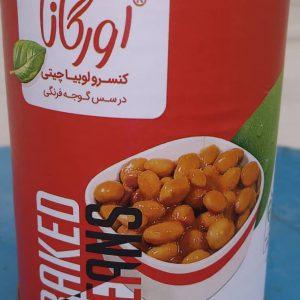 قیمت عمده کنسرو لوبیا با قارچ اورگانا در تهران