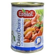 بازار خرید کنسرو قارچ و لوبیا خوشمزه