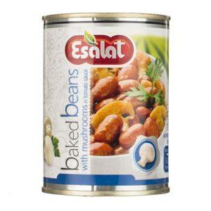 قیمت انواع کنسرو لوبیا چیتی با قارچ ارزان
