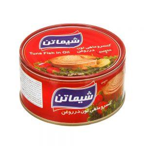 قیمت کنسرو تن ماهی در روغن گیاهی ۱۸۰ گرمی