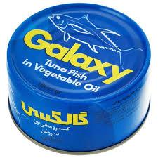 قیمت تن ماهی گلکسی