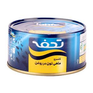 سفارش تن ماهی در روغن گیاهی